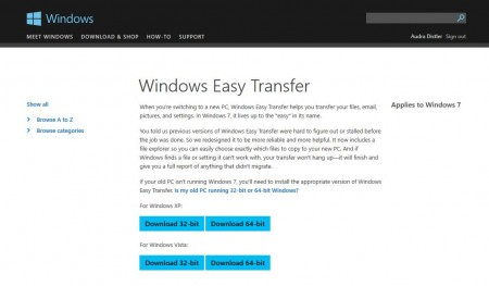 Why need to find Windows easy transfer to migrate XP to Windows 10