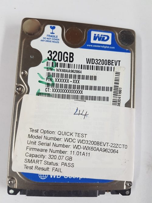 WD3200BEVT-22ZCTO
